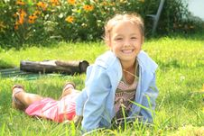 Free Smiling Young Girl Stock Photo - 14421700