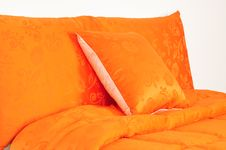 Free Bedding. Isolated Stock Image - 14421761