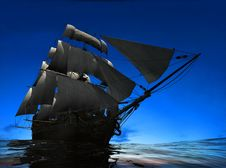 Free The Ancient Ship Stock Photography - 14421782