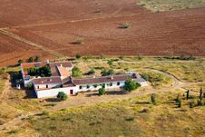 Free Aerial View Of A Meditteranean Cottage Royalty Free Stock Photo - 14421785
