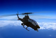 Free The Helicopter Royalty Free Stock Photos - 14421788