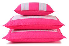 Free Pillows. Isolated Stock Image - 14421831
