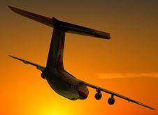 Free The  Plane Stock Photo - 14421860