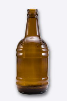Free Brown Beer Bottle Royalty Free Stock Photos - 14422018
