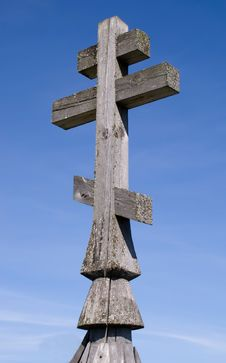 Wooden Church Cross Stock Photos
