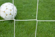 Free Score A Goal Royalty Free Stock Photos - 14424198