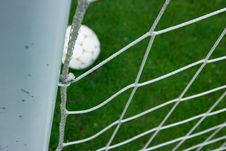 Free Score A Goal Royalty Free Stock Images - 14424239