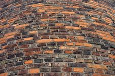 Wall From The Old Bricks