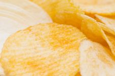 Free Background Form French Fries Royalty Free Stock Image - 14424506