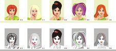 Free Girls With Phones Stock Photo - 14424710