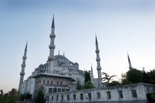 Free Blue Mosque Stock Photos - 14425413