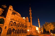 Free Blue Mosque Royalty Free Stock Images - 14425429