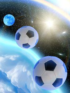 Free Sky  Stars  Balls Stock Image - 14425511