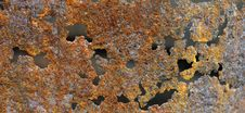 Free Rusty Texture With Holes Royalty Free Stock Photos - 14425548