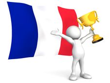 Free French Victory Royalty Free Stock Images - 14425629
