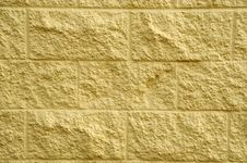 Free Yellow Brick Wall Royalty Free Stock Photography - 14425647