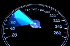 Free Speedometer Royalty Free Stock Photography - 14425737