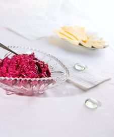 Free Salad From Red Beet Royalty Free Stock Images - 14425779