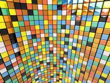 Free Wall Of Mosaic Stock Photo - 14425930
