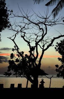 Free Bali - Nusa Dua Sunrise Stock Photos - 14426023
