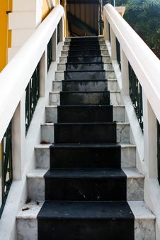 Marble Stair Royalty Free Stock Image
