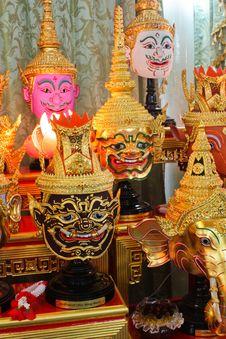 Free Masks Of Ramayana Stock Photos - 14426743