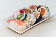 Free Sushi Diner Royalty Free Stock Image - 14427226