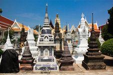 Free Many Styles Of Stupa Group Stock Photo - 14427300