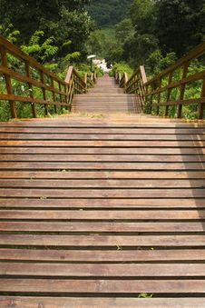 Free Wood Staircase Stock Photos - 14427323