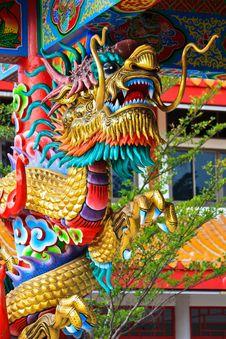 Free Golden Dragon Stock Photo - 14427330