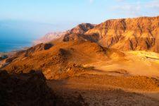 Dead Sea Sunrise Royalty Free Stock Photos