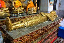 Free Sleeping Buddha Royalty Free Stock Photo - 14427595