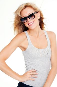 Free Pretty Young Blond Teenager Royalty Free Stock Photography - 14427607