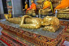 Free Sleeping Buddha Royalty Free Stock Image - 14427656