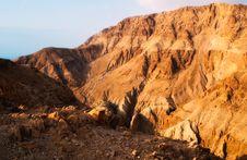 Free Dead Sea Sunrise Stock Photo - 14427790