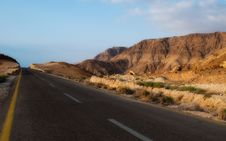 Free Road To Dead Sea Royalty Free Stock Photo - 14427815