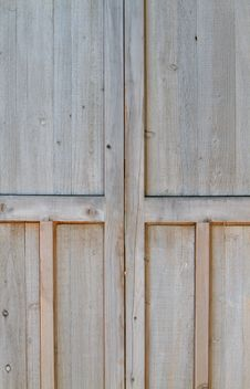 Free Close-up Wood Doors Stock Images - 14428414