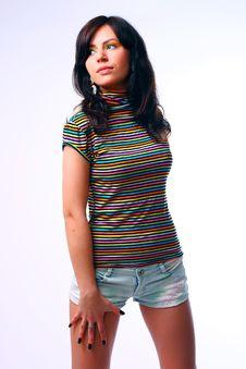 Free Studio Shot Of Beautiful Woman Stock Photography - 14428462