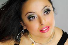 Free Girl With Wonderful Eyes Royalty Free Stock Photo - 14428545