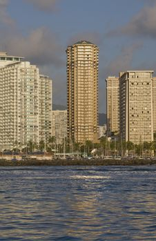 Free Waikiki Buildings Stock Photos - 14428583