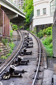 Cable Car Railway Reel Royalty Free Stock Images