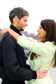Free Loving Couple Stock Photography - 14429112