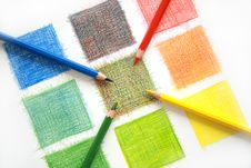 Free Color Mix, Pencils Royalty Free Stock Photos - 14429268