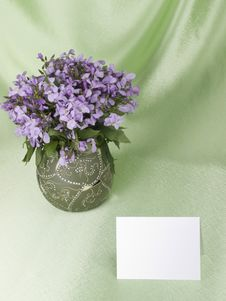 Free Flowers Are In A Vase Stock Photo - 14430380