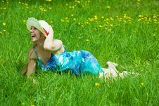 Free Smiling  Girl In Hat Stock Photo - 14430830