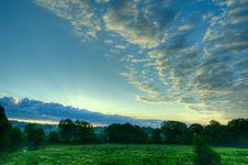 Free Sunrise Landscape Royalty Free Stock Photo - 14431735