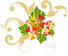 Free Floral Background Royalty Free Stock Photos - 14431788