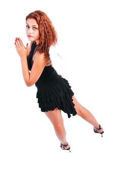 Free Beautiful Seductive Angel Stock Images - 14431884