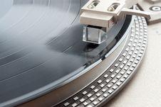 Free Turntable Cartridge Stock Image - 14432101