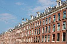 Free Amsterdam Houses Stock Photo - 14432450